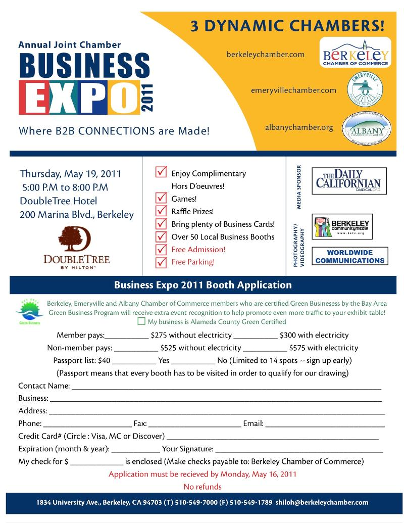 Berkeley Chamber Business Advocate - 2nd Quarter 2011 Newsletter