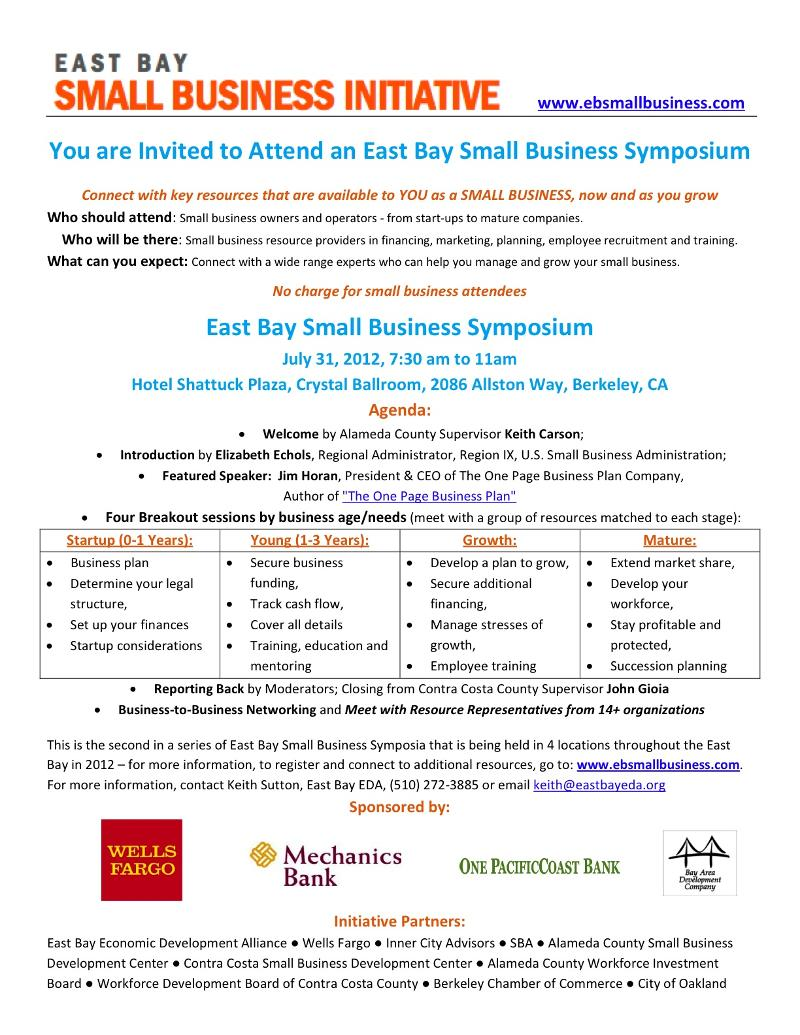 east bay small business