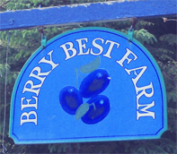 Berry Best Sign