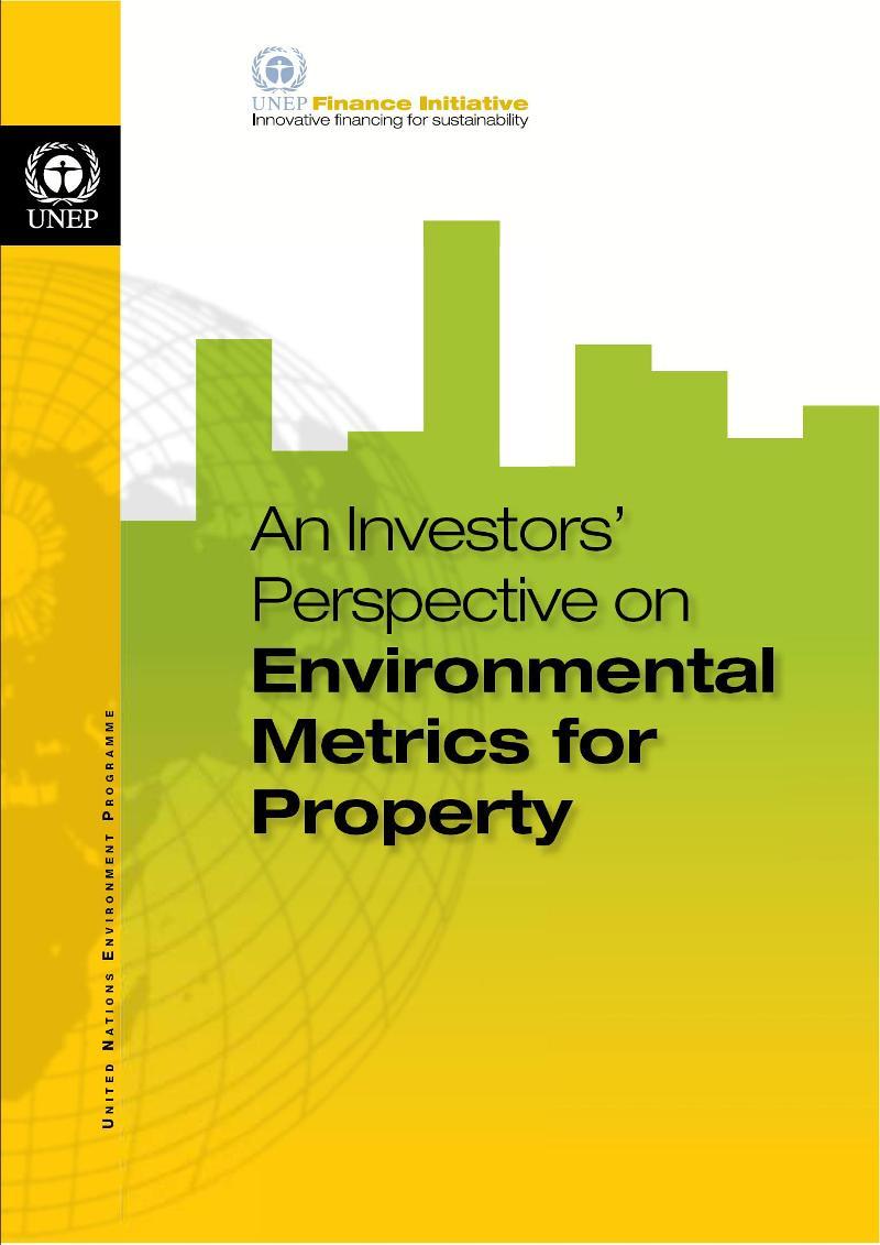 Metrics report cover