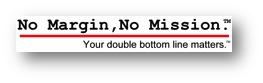 No Margin, No Mission Logo