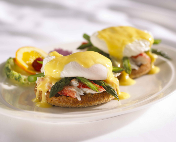 Charleston Crab Eggs Benedict