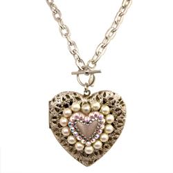 tt heart necklace