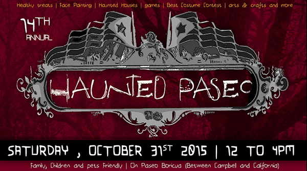 Join the 14th Annual Haunted Paseo!
