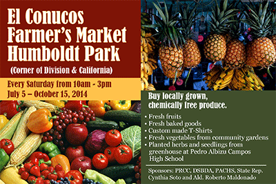 El Conuco Farmer's Market Humboldt Park