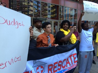El Rescate Advocates for Homeless