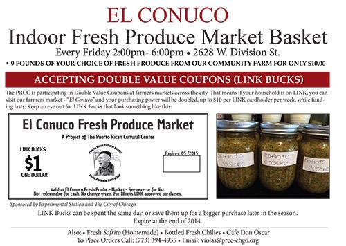 El Conuco Fresh Produce Market Basket