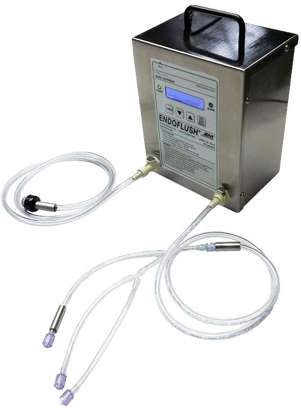 Endoscope Design: Easily Flush Scope Channels With Zutron Medical's All New