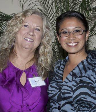 Joan and Karen at CFF