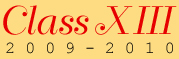 Class XIII logo