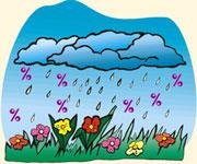 April Showers Savings
