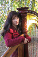 Kathryn Cater 2 harps