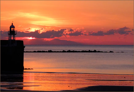 Isle of Man - Western Sunset