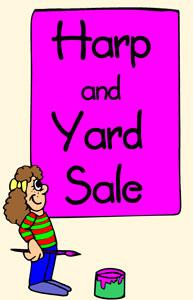 Harp and Yard Sale