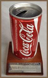 Paul McCartney's Coke Can