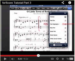 forScore tutorial