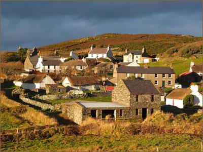 Isle of Man - Cregneash