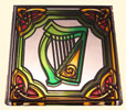 Stained Glass Mirror Magnet