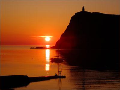 Isle of Man - Sunset