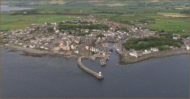 Isle of Man aerial video
