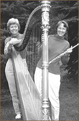 Joyce and flute