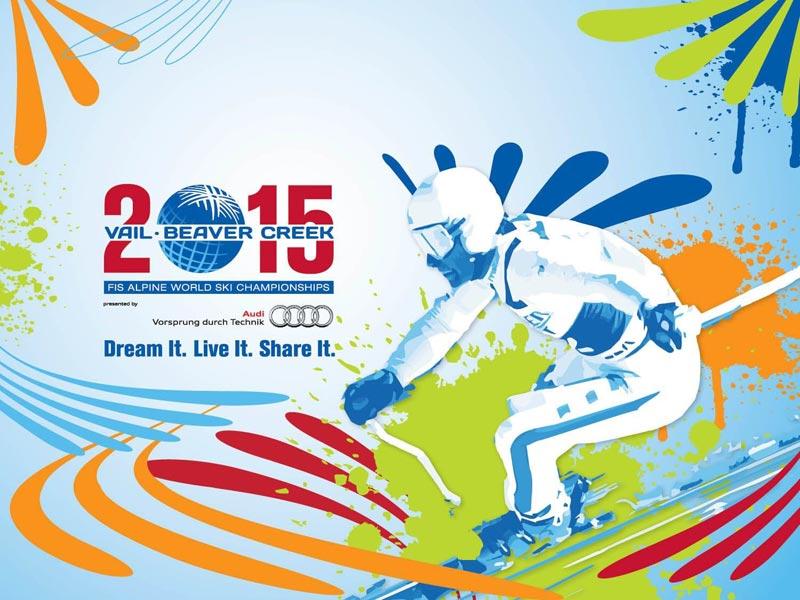World Ski Championships Poster