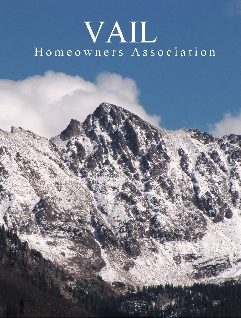 Vail Homeowners Association Membership Brochure