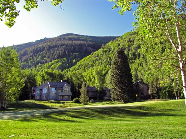 Vail Golf Course 18th Hole