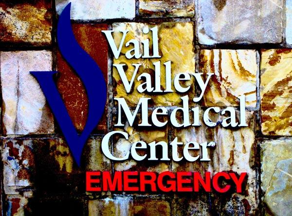 Vail Valley Medical Center Sign