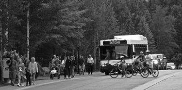 West Meadow Drive Street Traffic