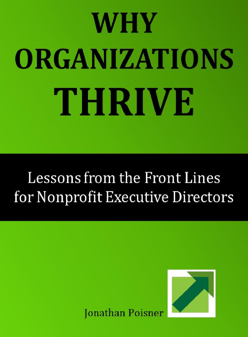 Why Organizations Thrive Book Cover