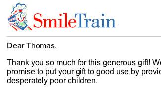 Dear Thomas