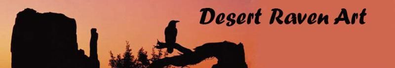 Desert Raven Art