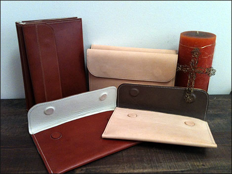 Leather IPad Sleeves