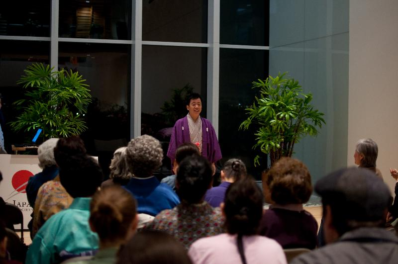 Rakugo Performance _ photos: Laura Ohata