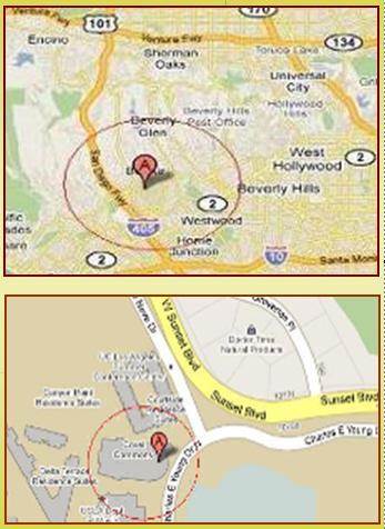 Map Location of UCLA