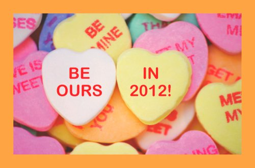 BE OURS valentine image