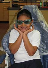 Give Kids A Smile 2012_girl with sunglasses