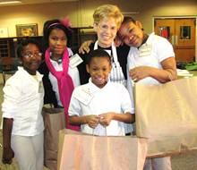 Operation School Bell 2012-group hug