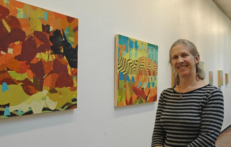 Art instructor Joyce Conlon