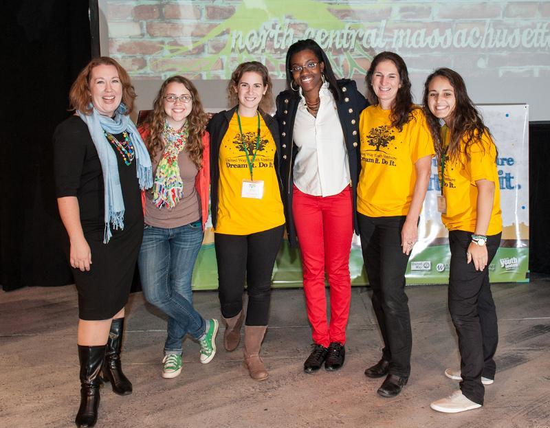 United Way Youth Venture team members
