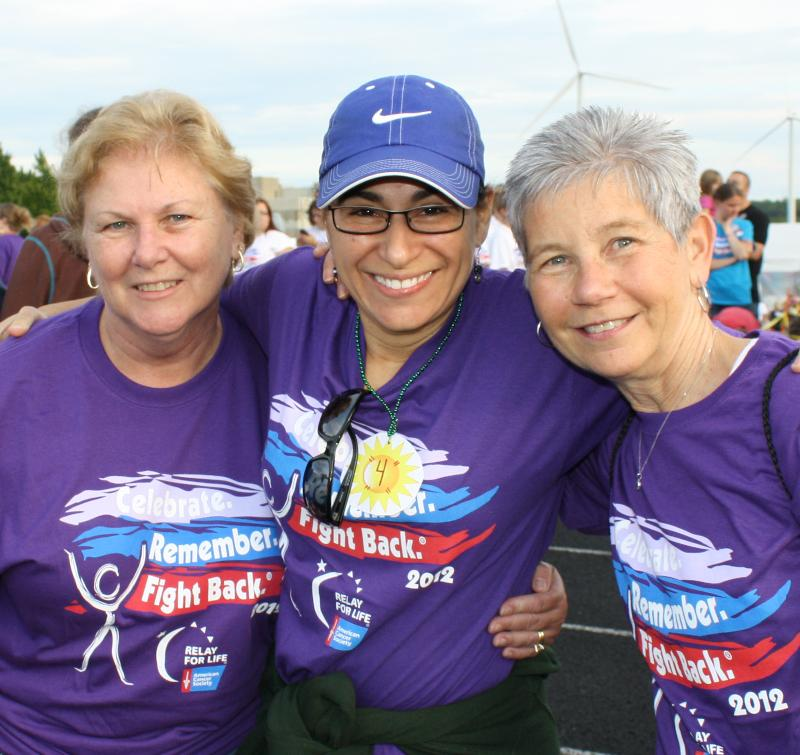 MWCC Relay for Life 2012 team participants