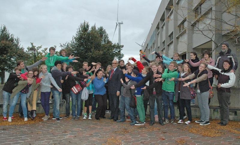 German students visit MWCC