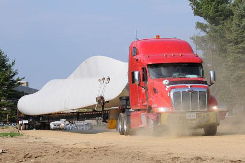 MWCC's turbines arrive