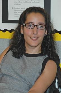 MWCC Student Trustee Caroline Horvitz