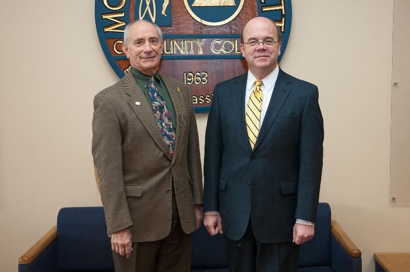 President Asquino and Congressman James McGovern