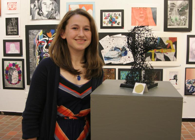 McKenzie West a in the 30th Annual Regional Exhibition of High School Art