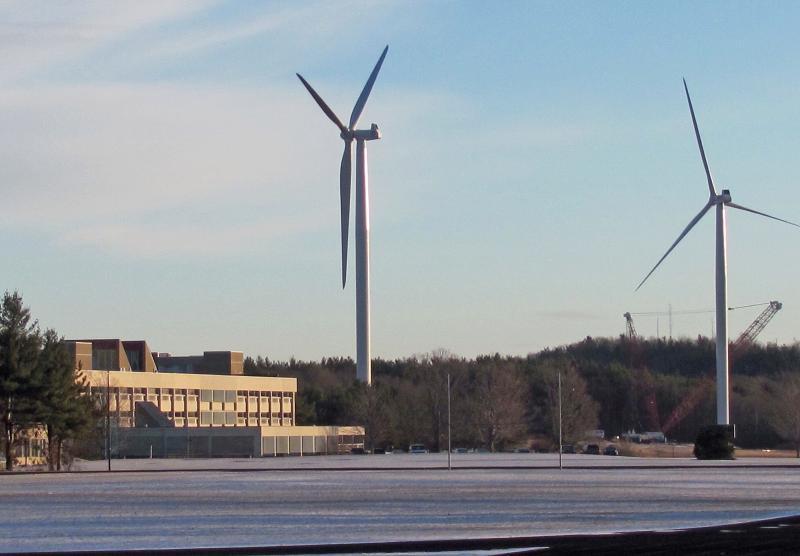 MWCC's Two Turbines