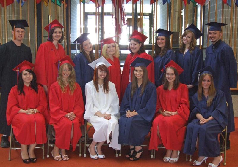 Gateway to College graduation 2010