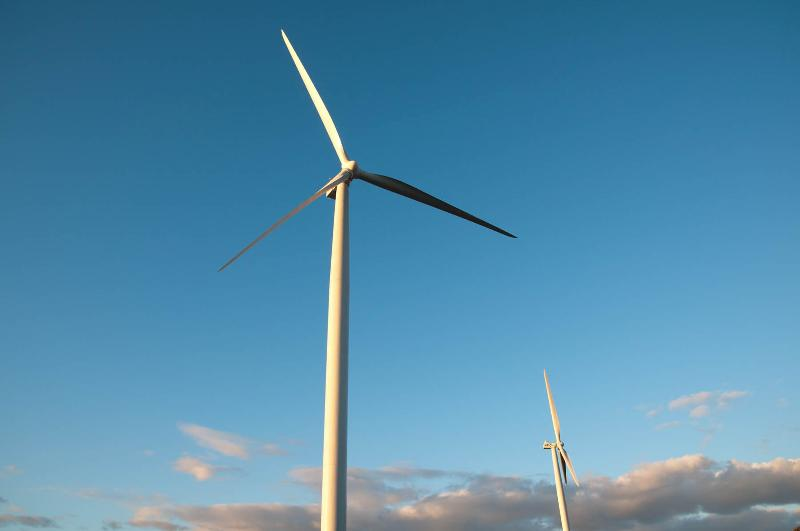 Turbines Sky